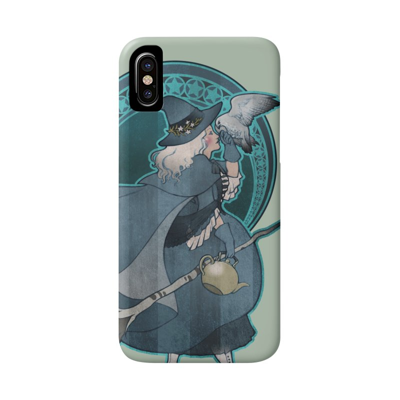 The White Witch Accessories Phone Case by Mar del Valle's Artist Shop