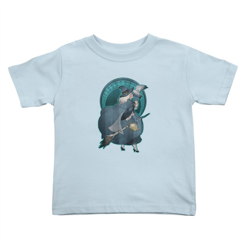 The White Witch Kids Toddler T-Shirt by Mar del Valle's Artist Shop