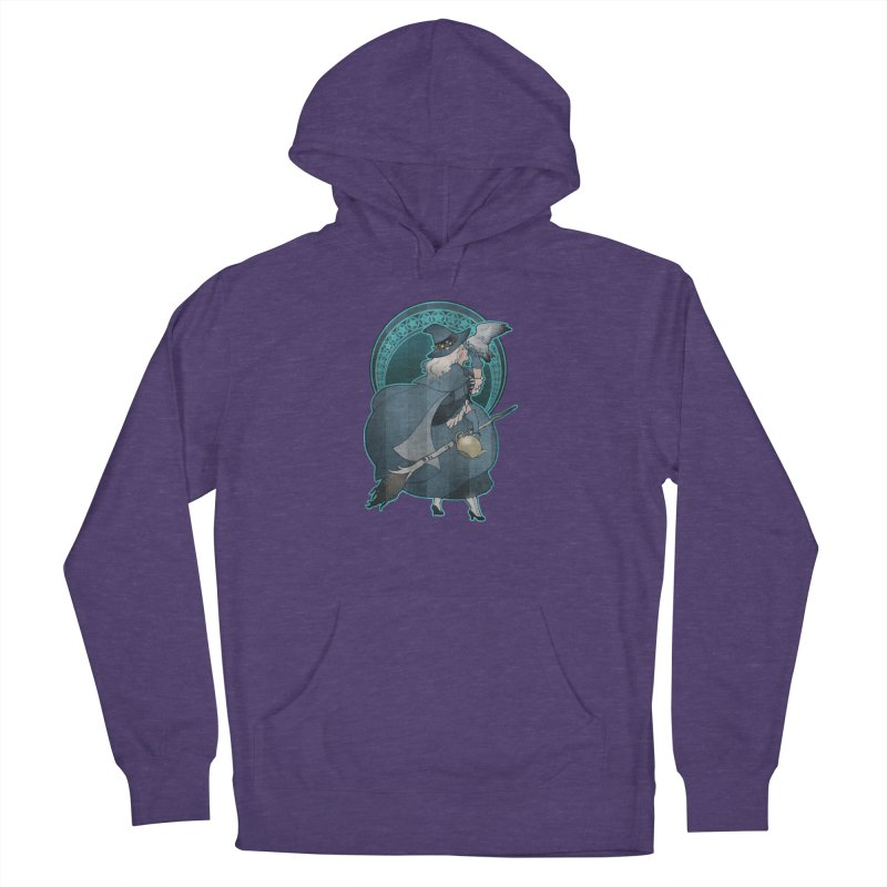 The White Witch Women's French Terry Pullover Hoody by Mar del Valle's Artist Shop