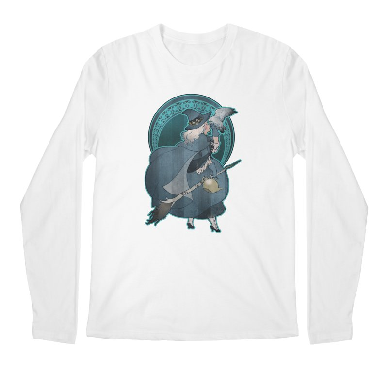 The White Witch Men's Regular Longsleeve T-Shirt by Mar del Valle's Artist Shop