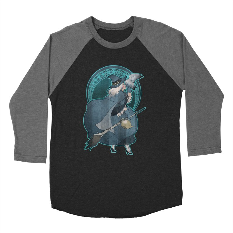 The White Witch Men's Baseball Triblend T-Shirt by Mar del Valle's Artist Shop