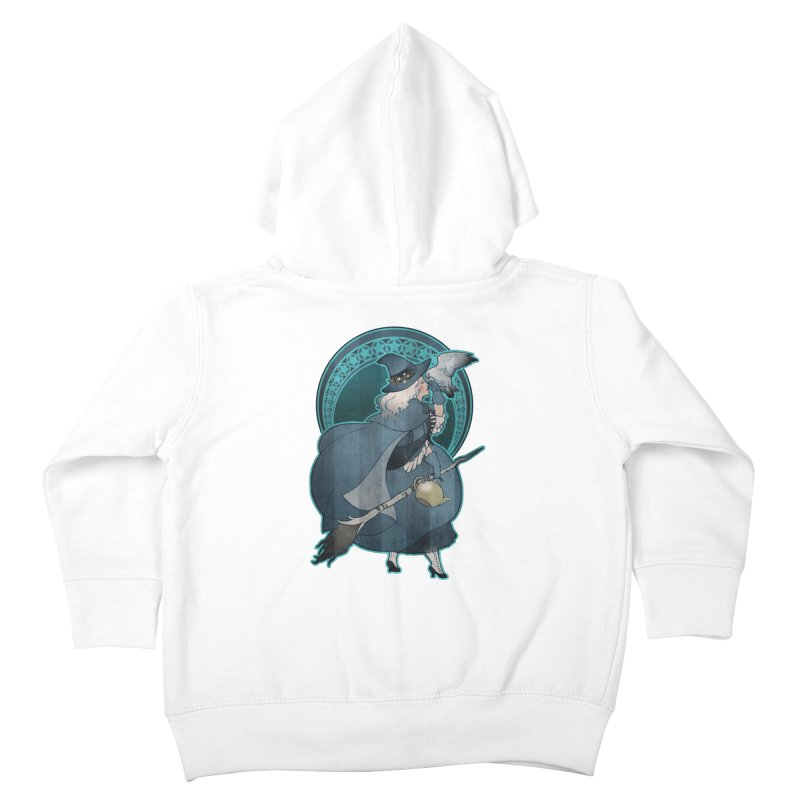The White Witch Kids Toddler Zip-Up Hoody by Mar del Valle's Artist Shop