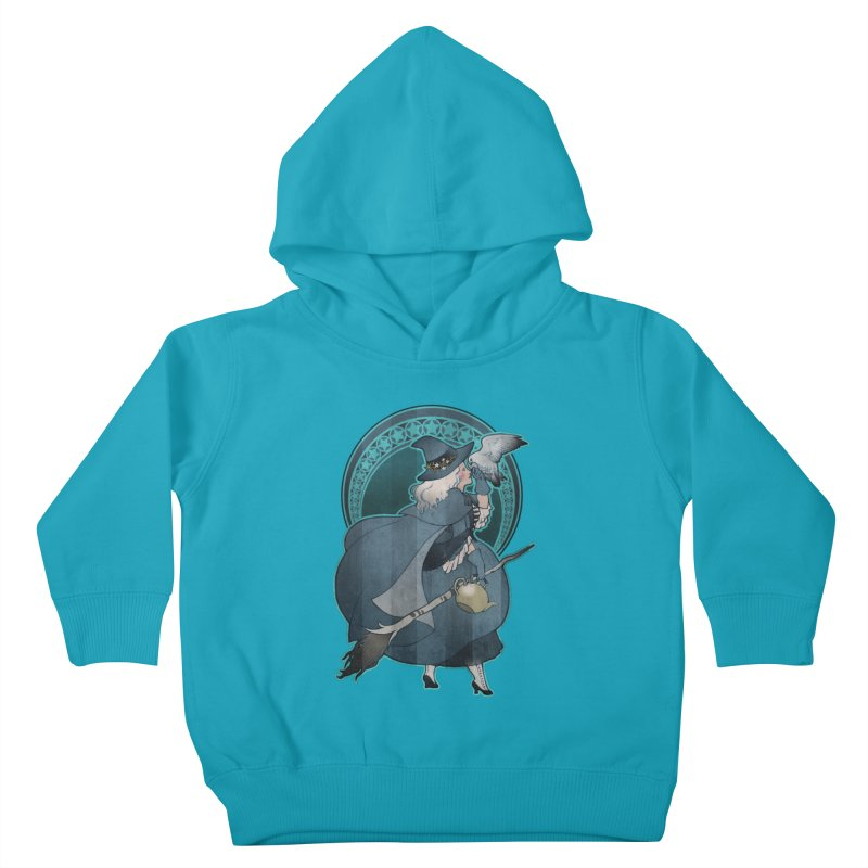 The White Witch Kids Toddler Pullover Hoody by Mar del Valle's Artist Shop