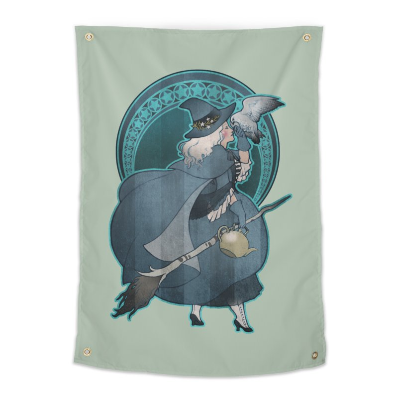 The White Witch Home Tapestry by Mar del Valle's Artist Shop