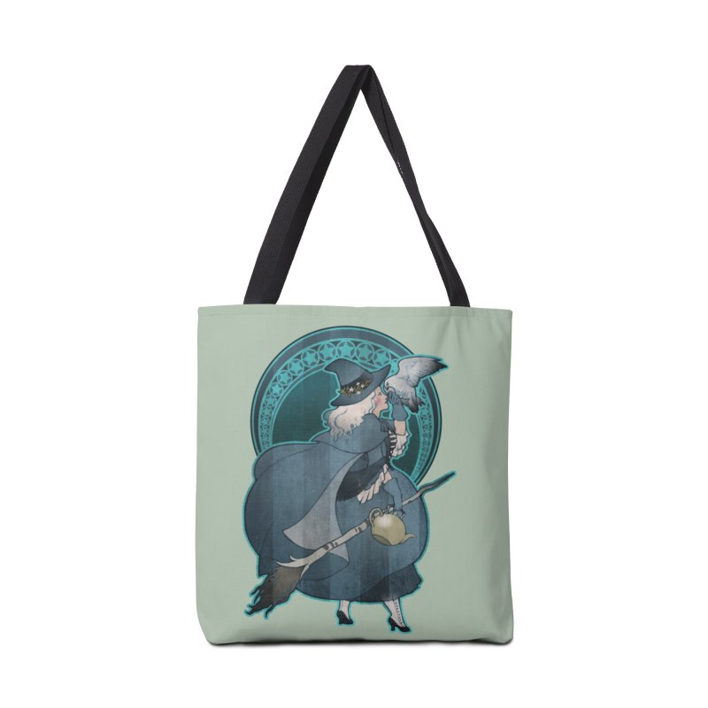 The White Witch Accessories Tote Bag Bag by Mar del Valle's Artist Shop