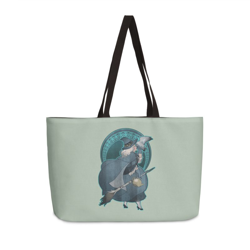 The White Witch Accessories Weekender Bag Bag by Mar del Valle's Artist Shop