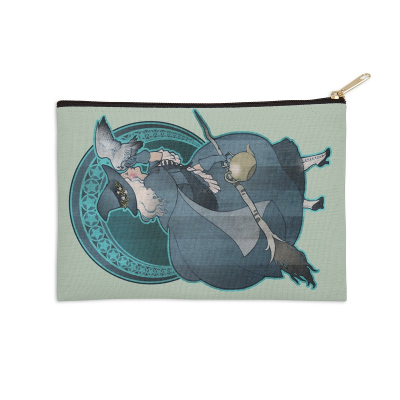 The White Witch Accessories Zip Pouch by Mar del Valle's Artist Shop