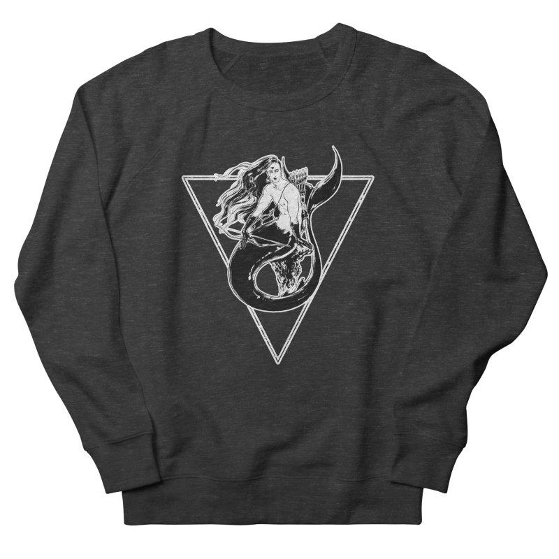 Black Mermaid Women's Sweatshirt by Mar del Valle's Artist Shop