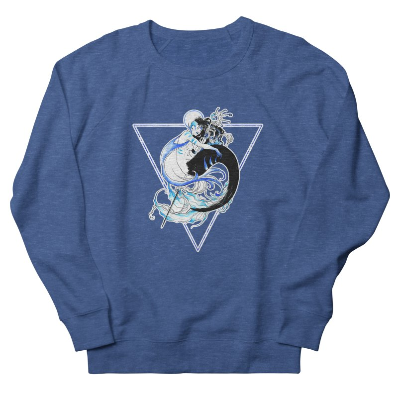 Blue Mermaid Women's Sweatshirt by Mar del Valle's Artist Shop