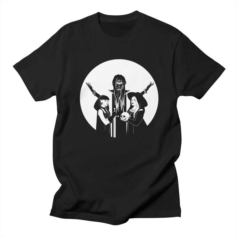 Never Hide: Three Witches Men's T-Shirt by Mar del Valle's Artist Shop
