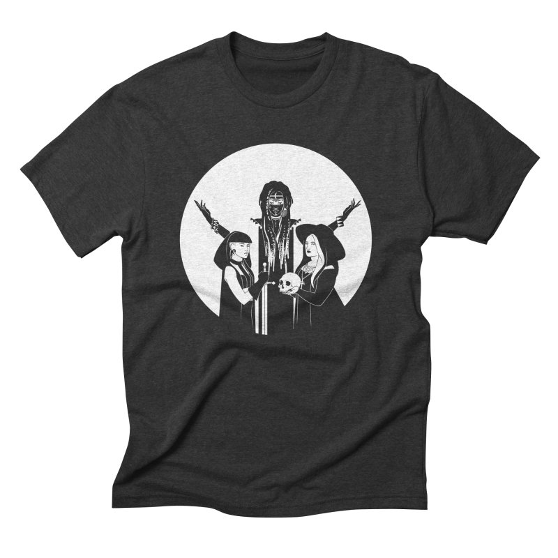 Never Hide: Three Witches Men's Triblend T-shirt by Mar del Valle's Artist Shop