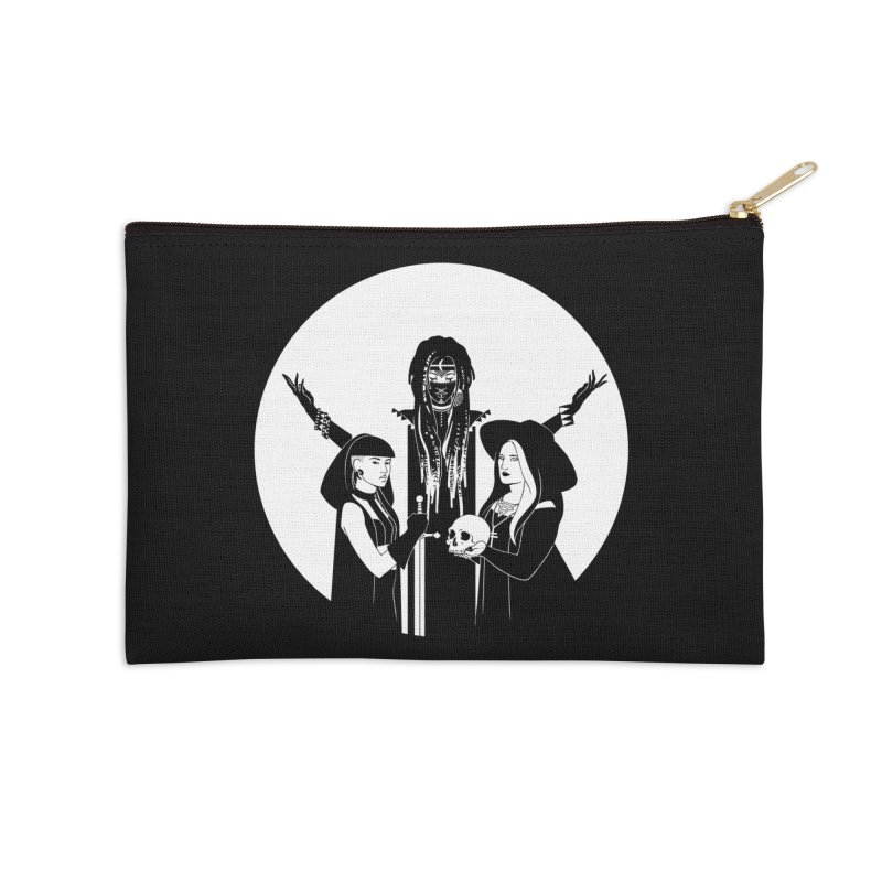 Never Hide: Three Witches Accessories Zip Pouch by Mar del Valle's Artist Shop
