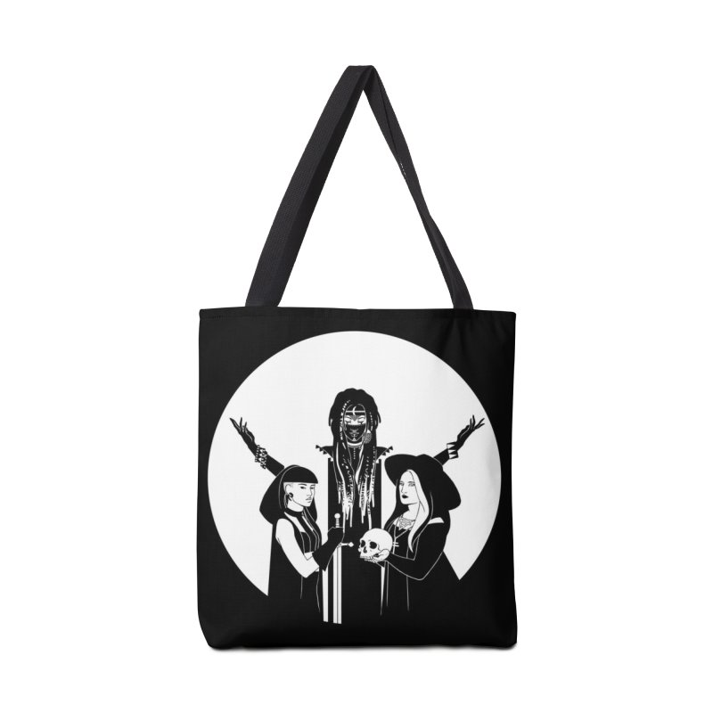 Never Hide: Three Witches Accessories Tote Bag Bag by Mar del Valle's Artist Shop