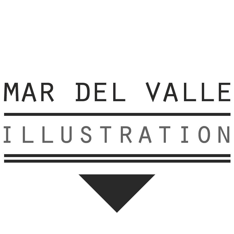 Mar del Valle's Artist Shop Logo