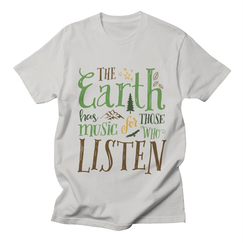 The Earth's Music Women's Unisex T-Shirt by Margie Mark's Artist Shop