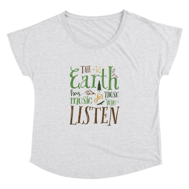 The Earth's Music Women's Dolman by Margie Mark's Artist Shop