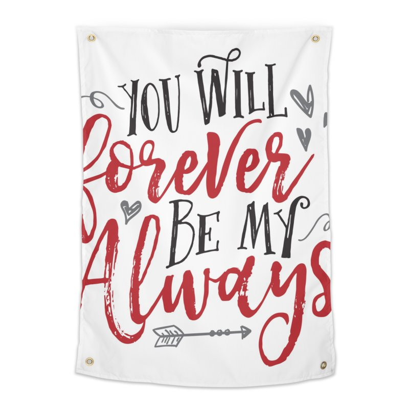 Forever My Always Home Tapestry by Margie Mark's Artist Shop