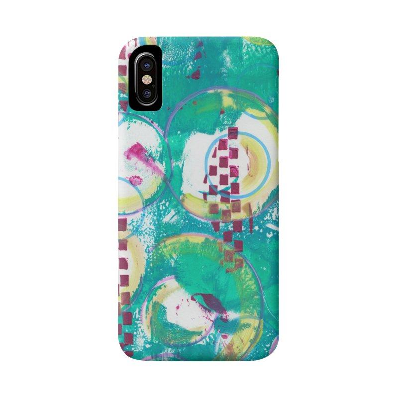 Bubble Curtain Accessories Phone Case by Margie Mark's Artist Shop