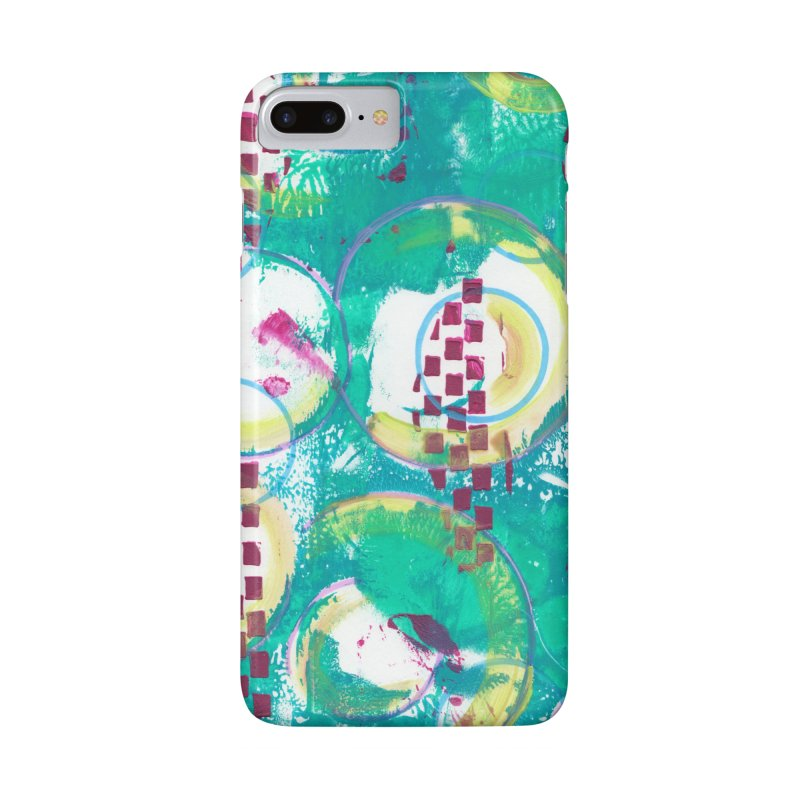 Bubble Curtain Accessories Phone Case by Margie Mark's Artist Shop
