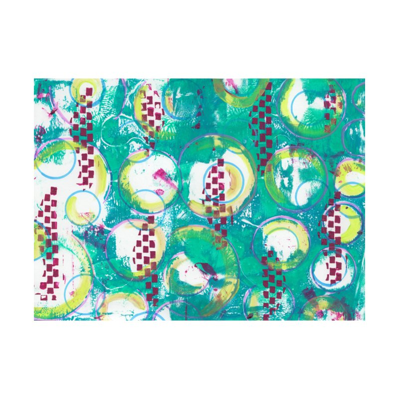 Bubble Curtain None  by Margie Mark's Artist Shop