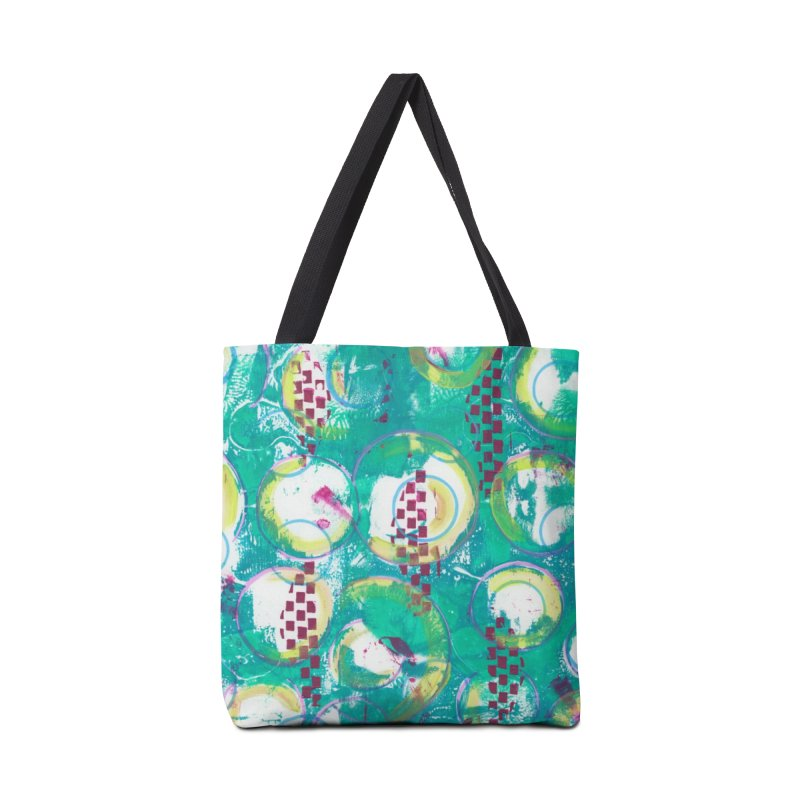 Bubble Curtain Accessories Bag by Margie Mark's Artist Shop