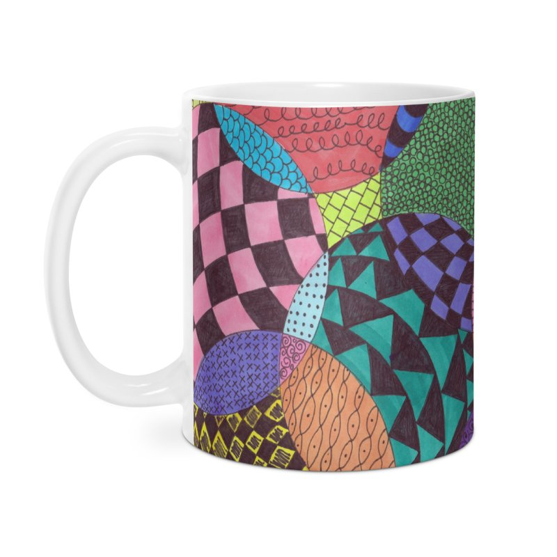 Circle of Tangles Accessories Mug by Margie Mark's Artist Shop