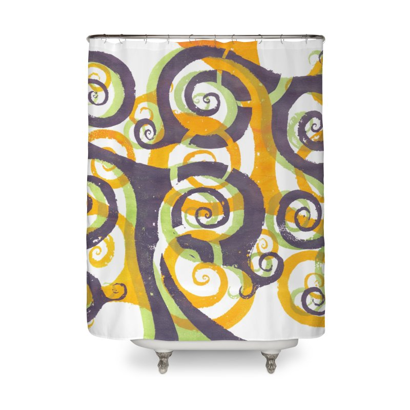 Swirls on Swirls   by Margie Mark's Artist Shop