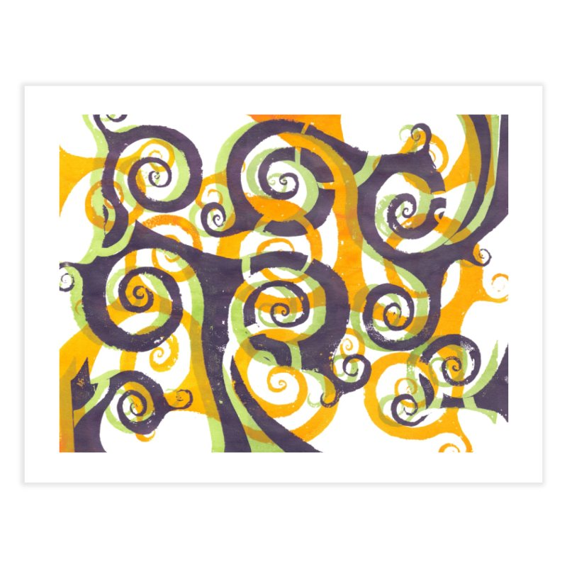 Swirls on Swirls Home Fine Art Print by Margie Mark's Artist Shop