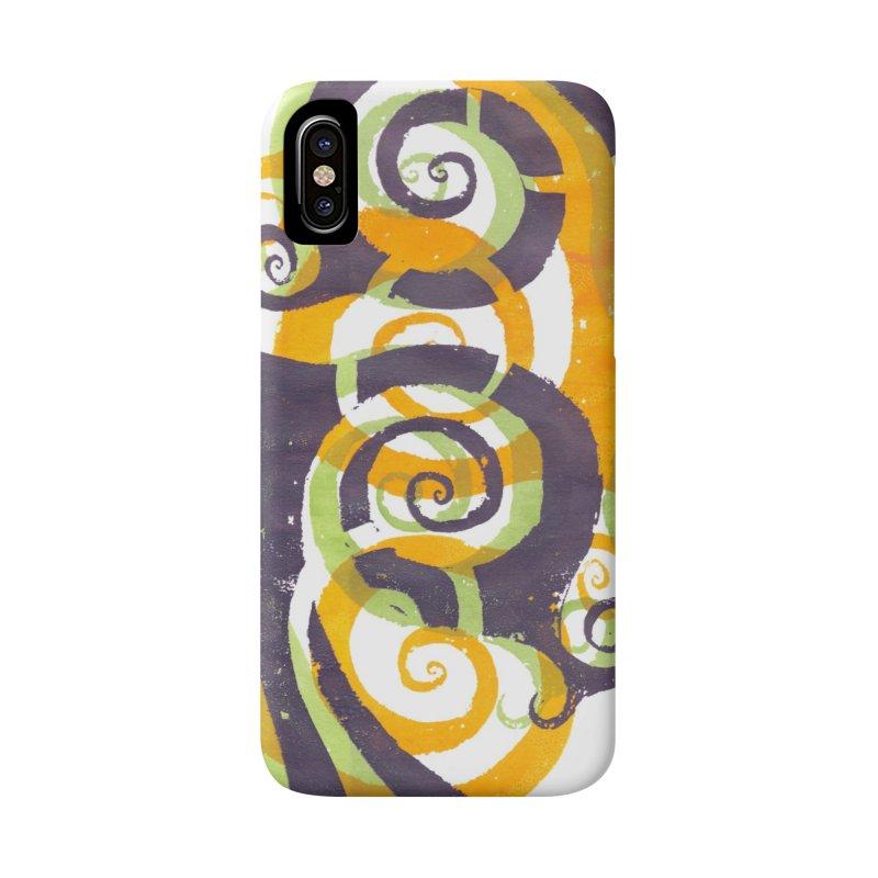 Swirls on Swirls Accessories Phone Case by Margie Mark's Artist Shop