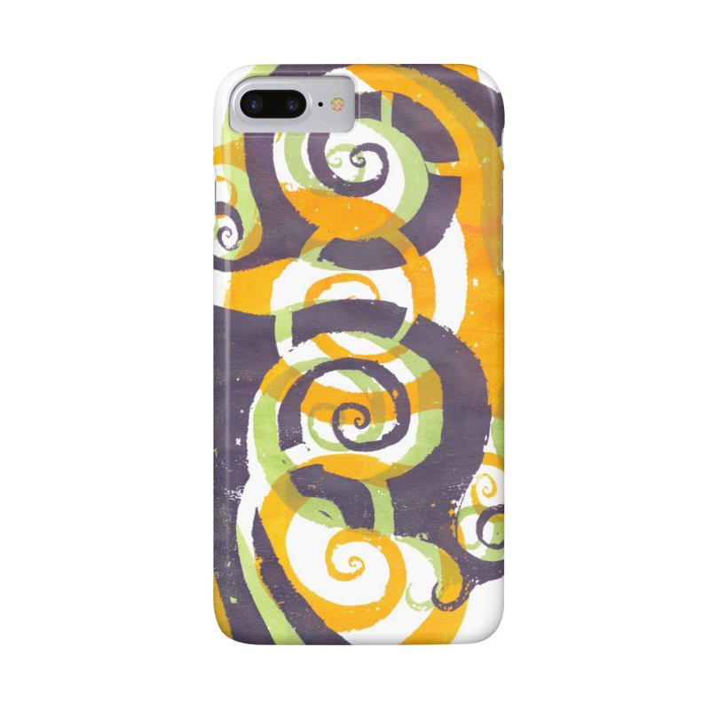 Swirls on Swirls Accessories Phone Case by Margie Mark's Artist Shop