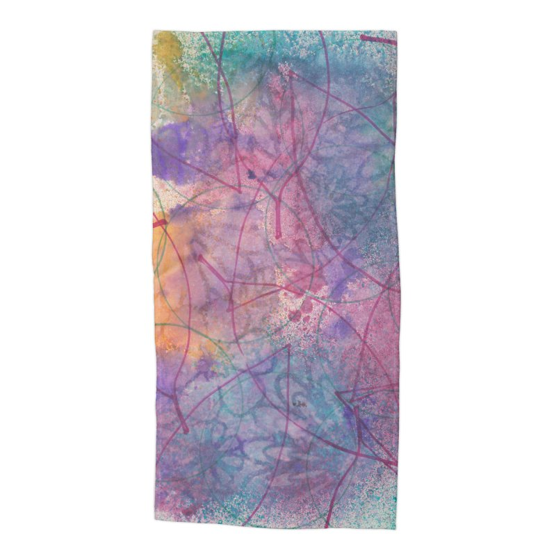 Cool Summer Accessories Beach Towel by Margie Mark's Artist Shop
