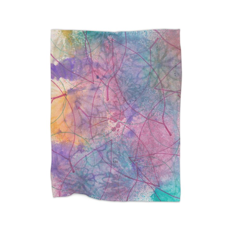 Cool Summer Home Blanket by Margie Mark's Artist Shop