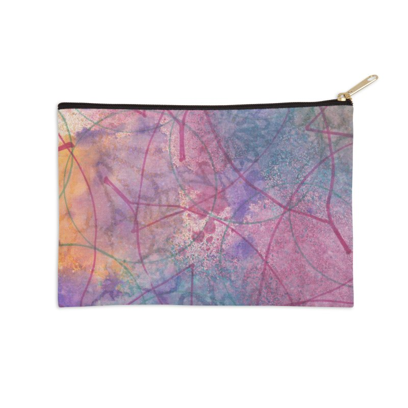 Cool Summer Accessories Zip Pouch by Margie Mark's Artist Shop