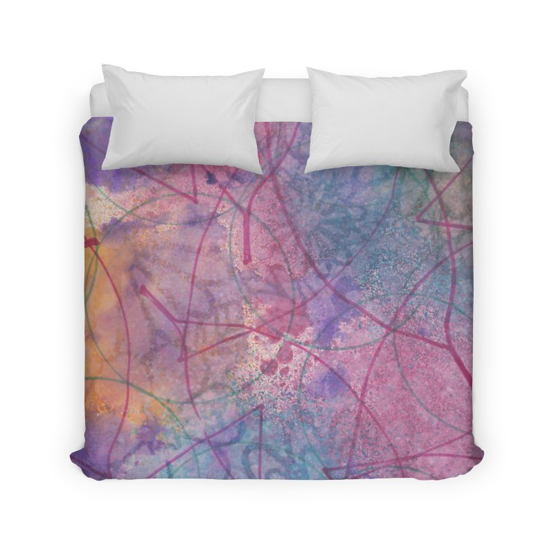 Cool Summer Home Duvet by Margie Mark's Artist Shop