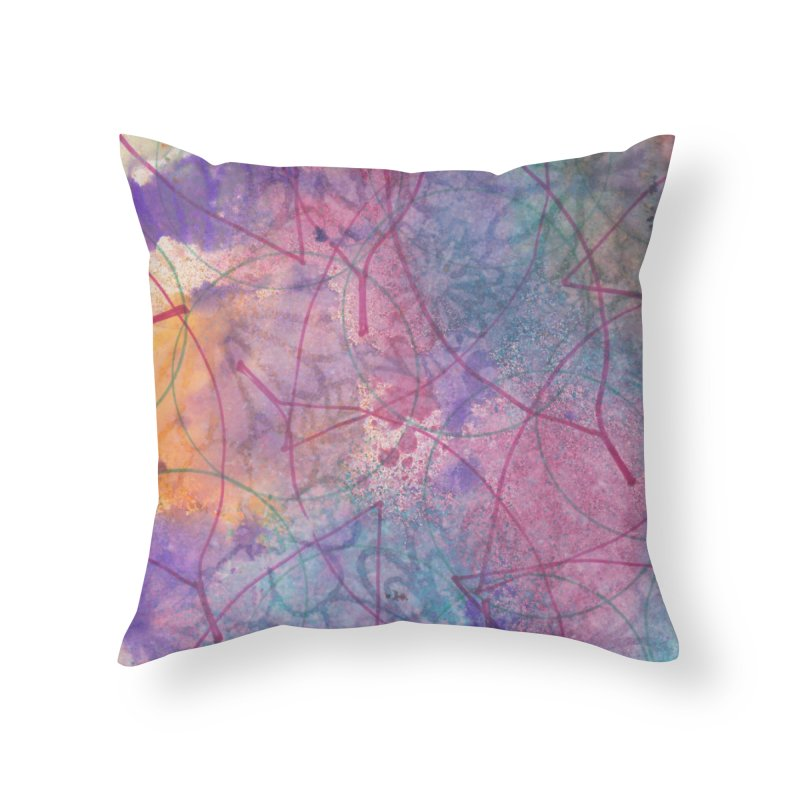 Cool Summer Home Throw Pillow by Margie Mark's Artist Shop