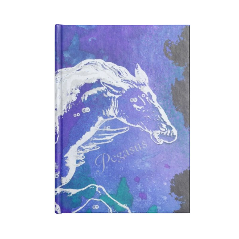 Pegasus Dream Accessories Notebook by Margie Mark's Artist Shop
