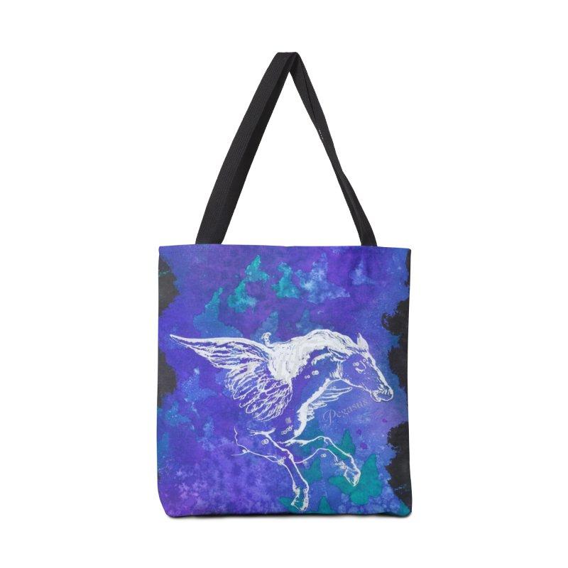 Pegasus Dream Accessories Bag by Margie Mark's Artist Shop