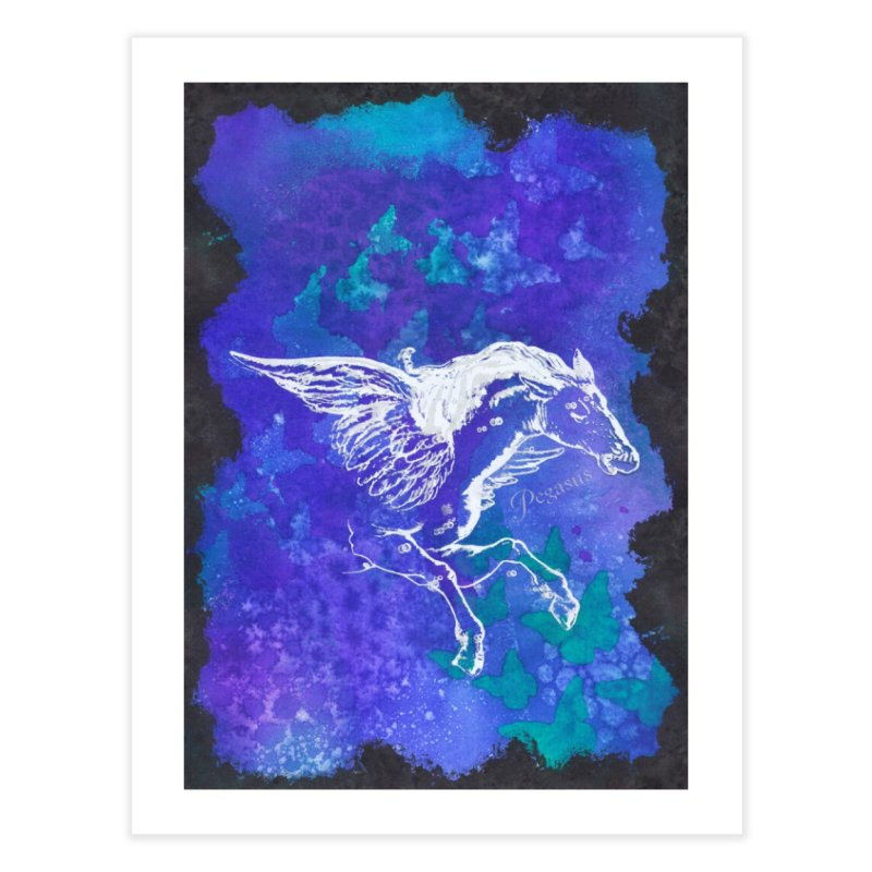 Pegasus Dream Home Fine Art Print by Margie Mark's Artist Shop