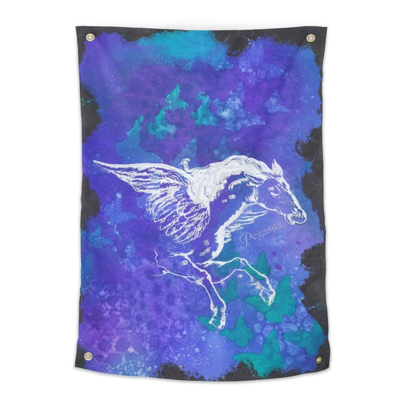 Pegasus Dream Home Tapestry by Margie Mark's Artist Shop