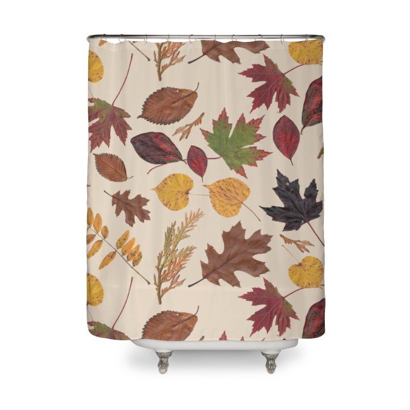 Aurora Autumn Home Shower Curtain by Margie Mark's Artist Shop