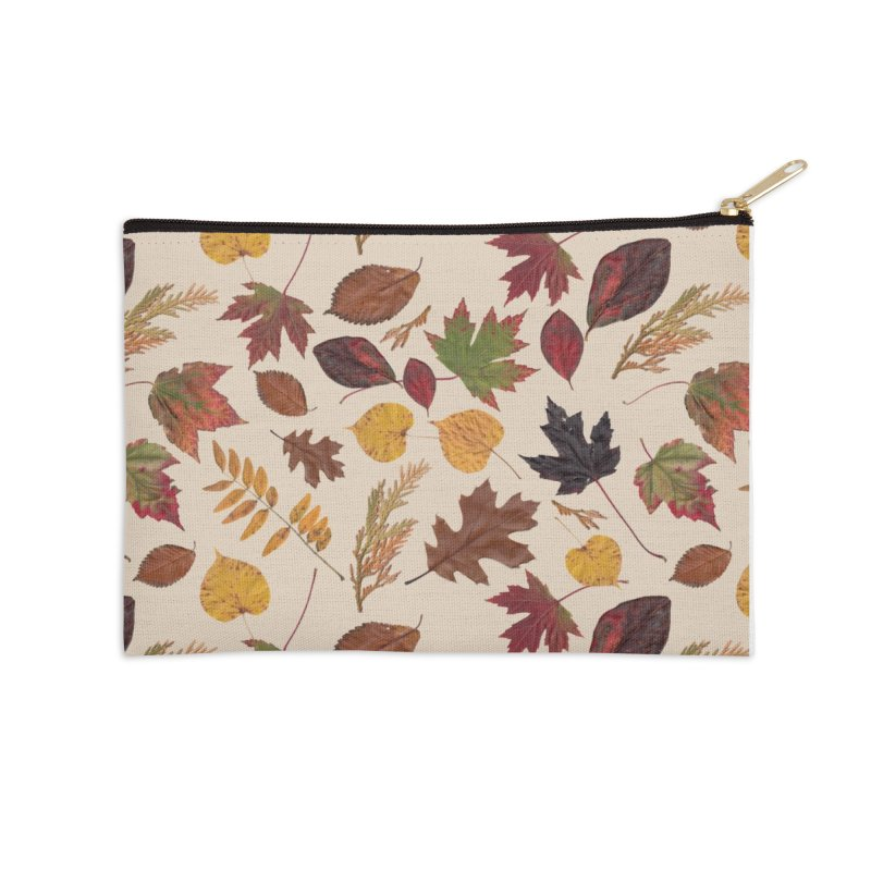 Aurora Autumn Accessories Zip Pouch by Margie Mark's Artist Shop