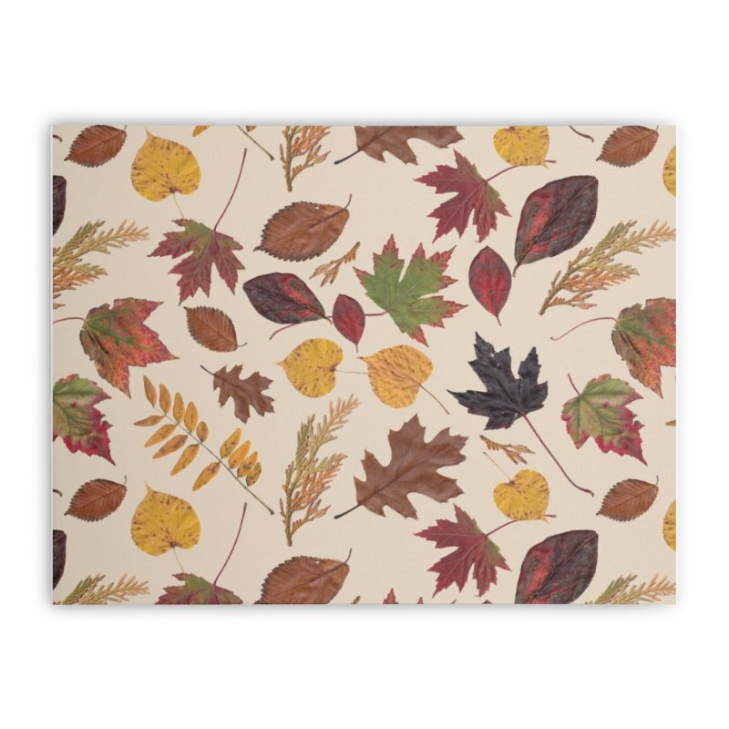 Aurora Autumn Home Stretched Canvas by Margie Mark's Artist Shop