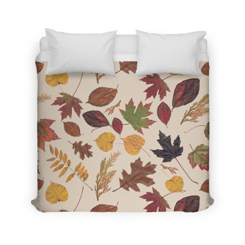 Aurora Autumn Home Duvet by Margie Mark's Artist Shop
