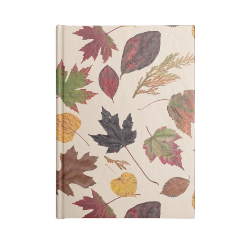 Aurora Autumn Accessories Notebook by Margie Mark's Artist Shop