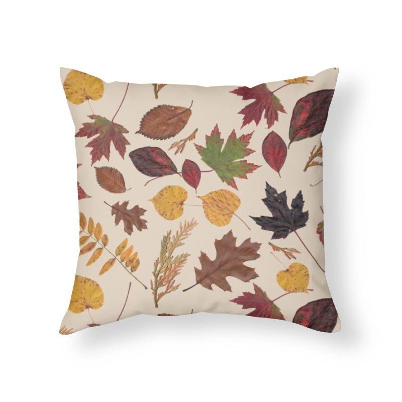 Aurora Autumn Home Throw Pillow by Margie Mark's Artist Shop
