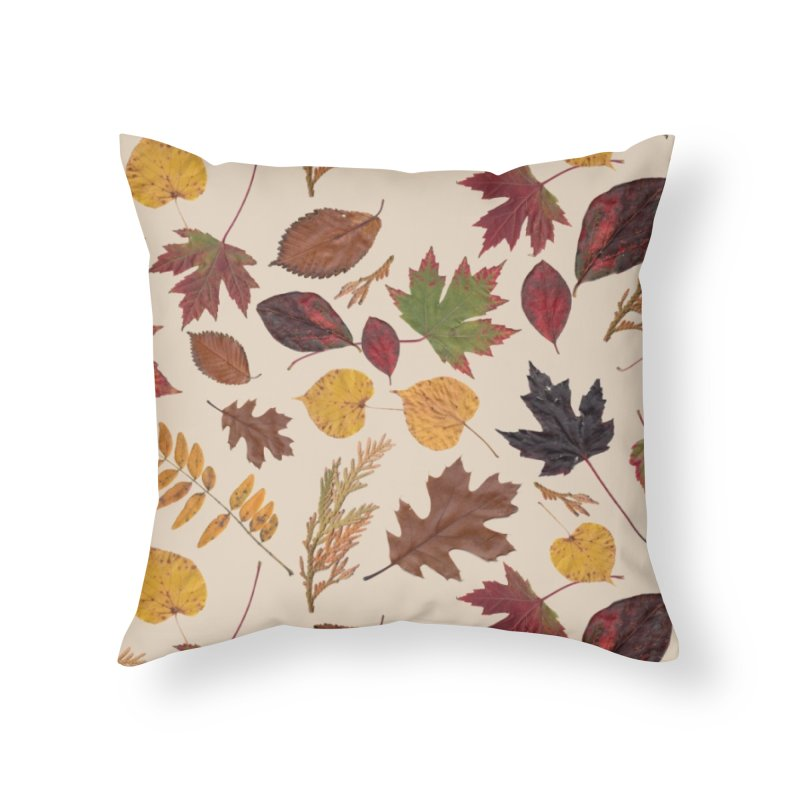 Aurora Autumn Home Throw Pillow by Margie Mark's Artist Shop