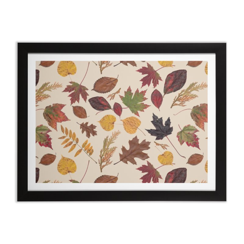 Aurora Autumn Home Framed Fine Art Print by Margie Mark's Artist Shop
