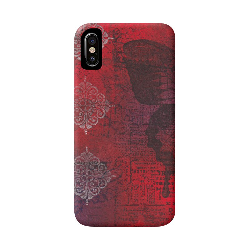 Butterfly Ink Accessories Phone Case by Margie Mark's Artist Shop