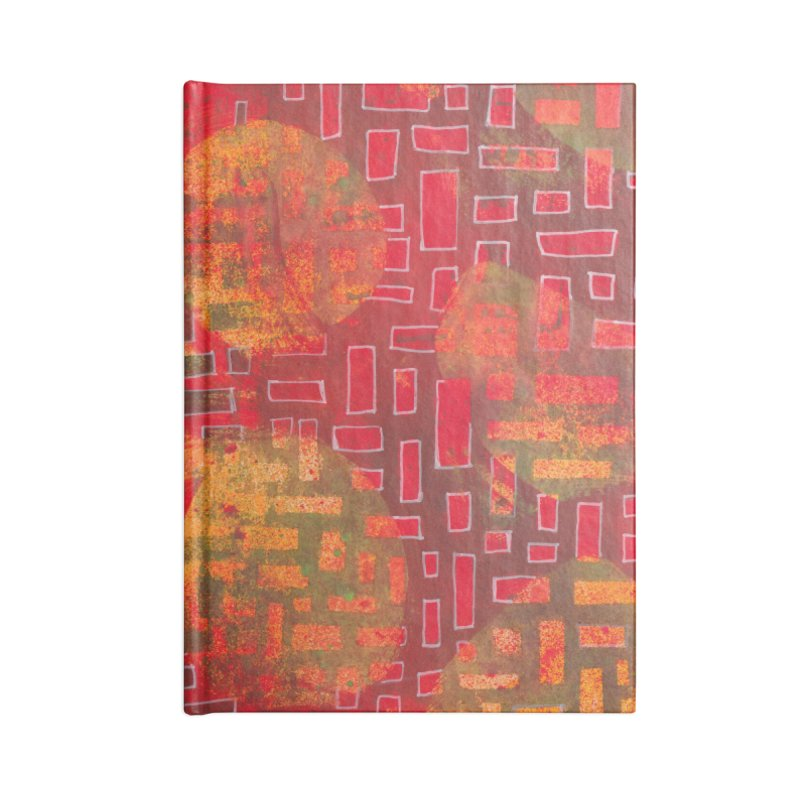 Building/Breaking Accessories Notebook by Margie Mark's Artist Shop