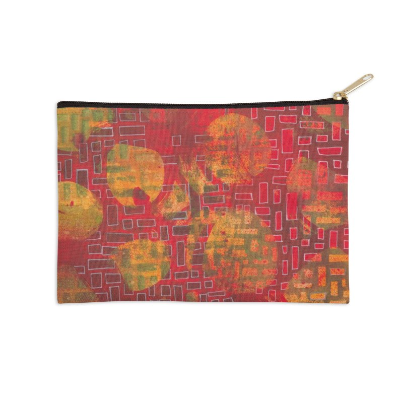 Building/Breaking Accessories Zip Pouch by Margie Mark's Artist Shop